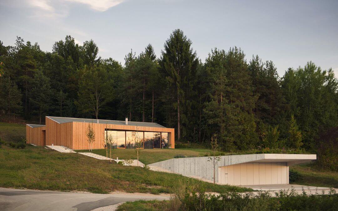 Kombinat: Hiša na robu gozda