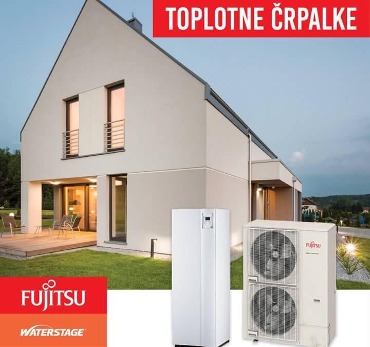 Ogrevanje prihodnosti – Toplotne črpalke Fujitsu Waterstage