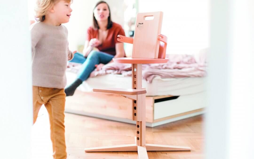 Froc: Prilagodljiv otroški stolček, ki raste z vašim malčkom