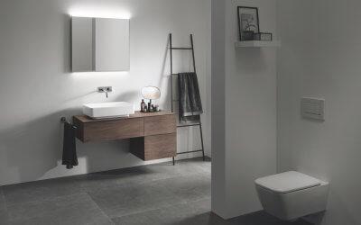 Idealna vgradna višina kopalniških elementov
